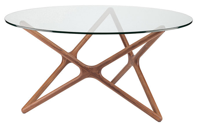 "Star Dining Table Ash Walnut - Dia 41"" Ash Walnut - Dia 41"" Dining Table Nuevo Old Bones Furniture Company https://www.oldbonesco.com/"