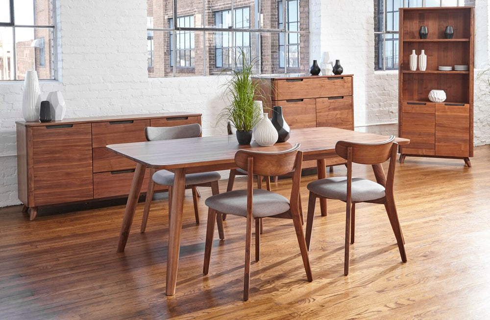 "Tahoe American Walnut 60"" Dining Table   Dining Table Unique Furniture Four Hands, Mid Century Modern Furniture, Old Bones Furniture Company, https://www.oldbonesco.com/"