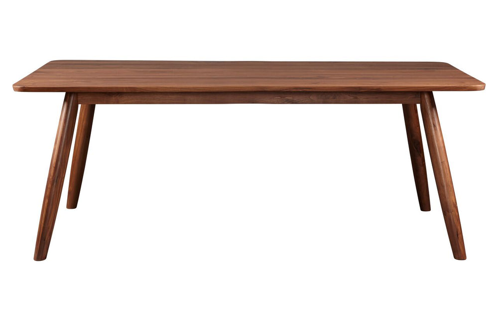 "Tahoe American Walnut 77"" Dining Table - Old Bones Furniture Company"