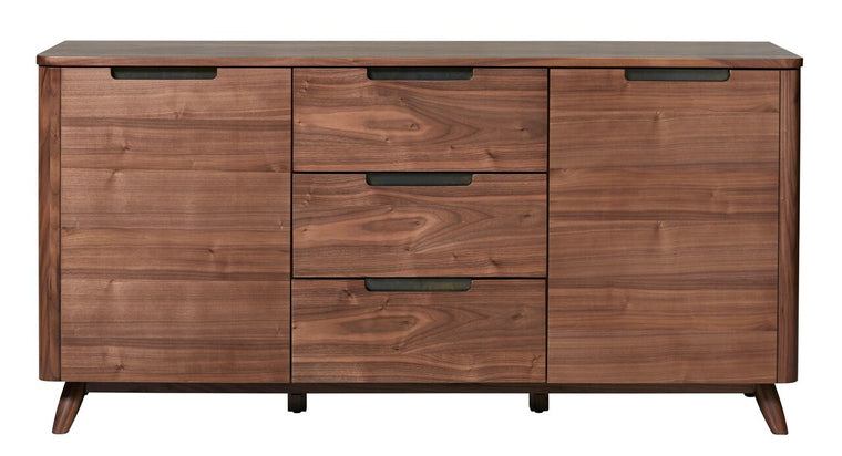 Tahoe American Walnut 3 Section Sideboard