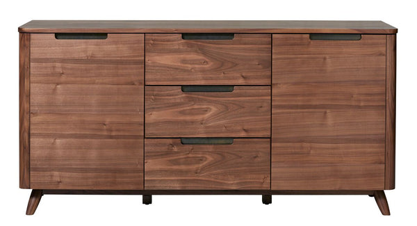 Tahoe American Walnut 3 Section Sideboard - Old Bones Furniture Company