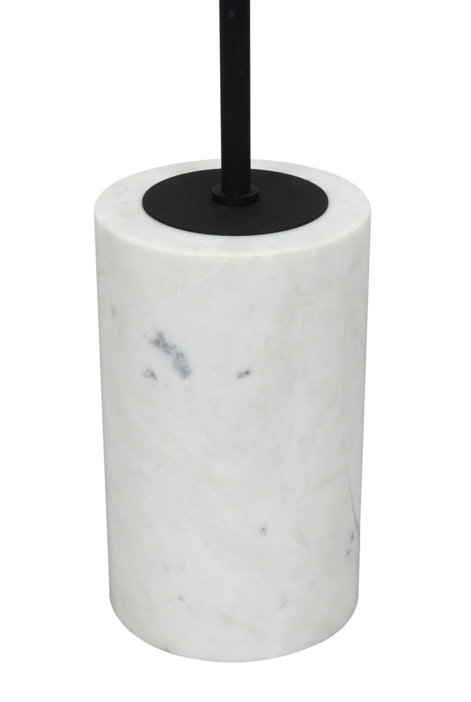 Arena Marble Base Floor Lamp   Floor Lamp TOV Furniture Four Hands, Mid Century Modern Furniture, Old Bones Furniture Company, https://www.oldbonesco.com/