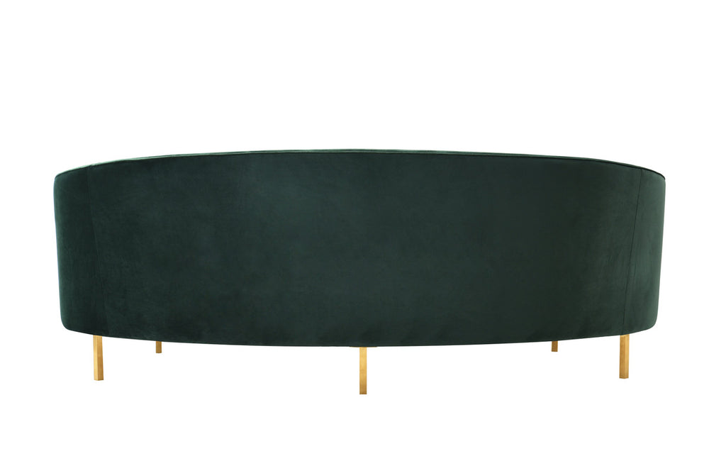 Baila Velvet Sofa   Sofa TOV Furniture, Old Bones Co  https://www.oldbonesco.com/