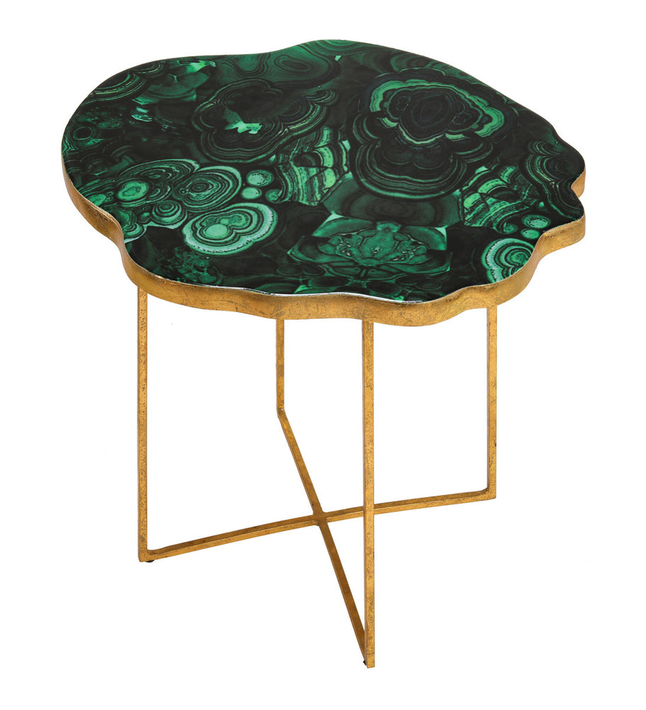 Lily Agate Side Table   Side Table TOV Furniture Four Hands, Mid Century Modern Furniture, Old Bones Furniture Company, https://www.oldbonesco.com/