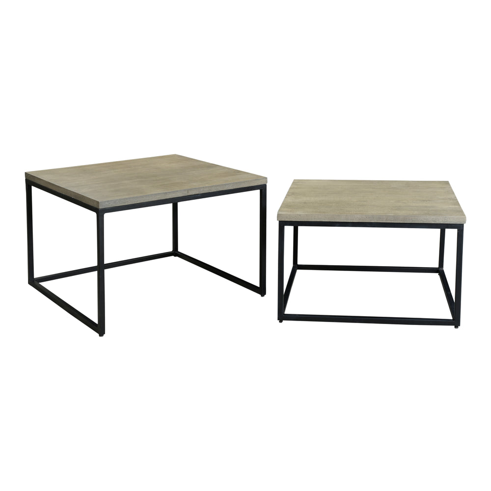 Drey Square Nesting Coffee Tables Set of 2   Coffee Tables Moe's Old Bones Furniture Company https://www.oldbonesco.com/