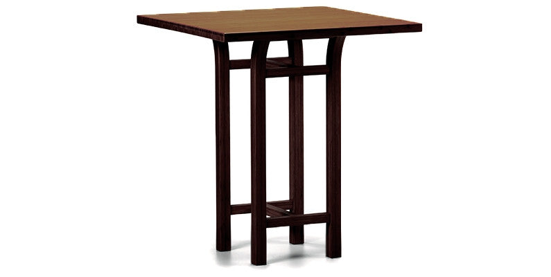 "Tulip 36"" Counter Height Table, Black Walnut http://www.oldbonesco.com/ Counter Table"