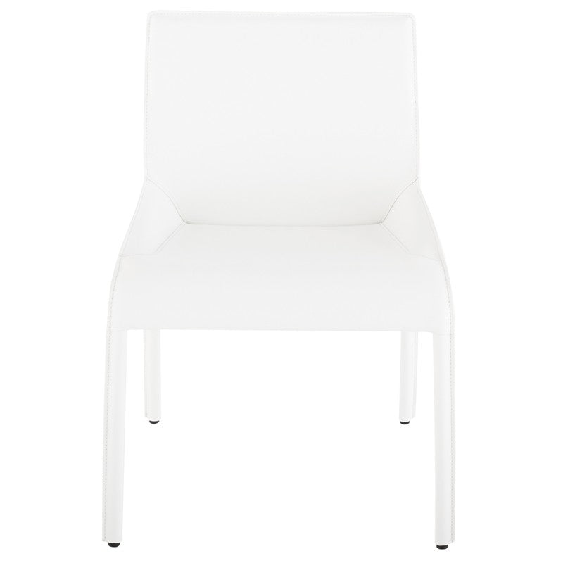 DELPHINE DINING CHAIR - WHITE