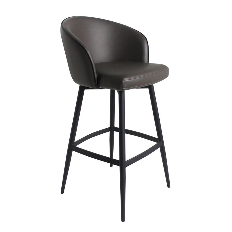 Webber Counter Stool Charcoal Grey