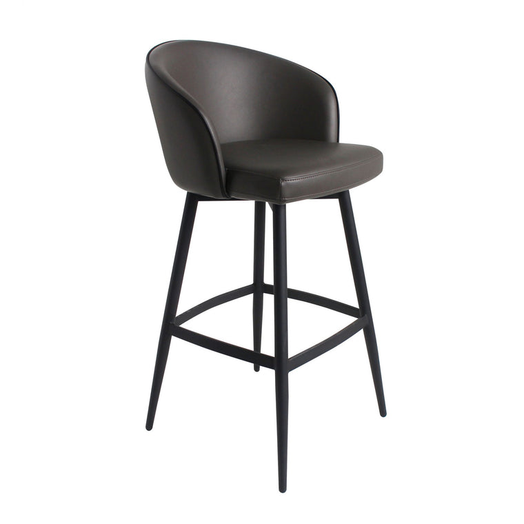 Webber Bar Stool Charcoal Grey