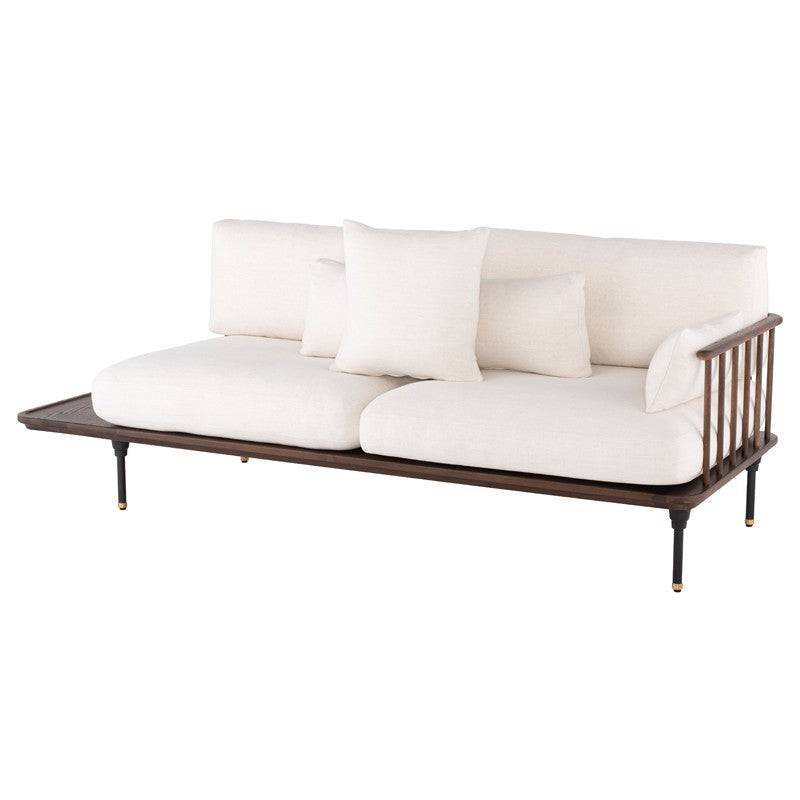Distrikt Triple Seat Sofa - Dark Oak   SOFA District Eight Old Bones Furniture Company https://www.oldbonesco.com/