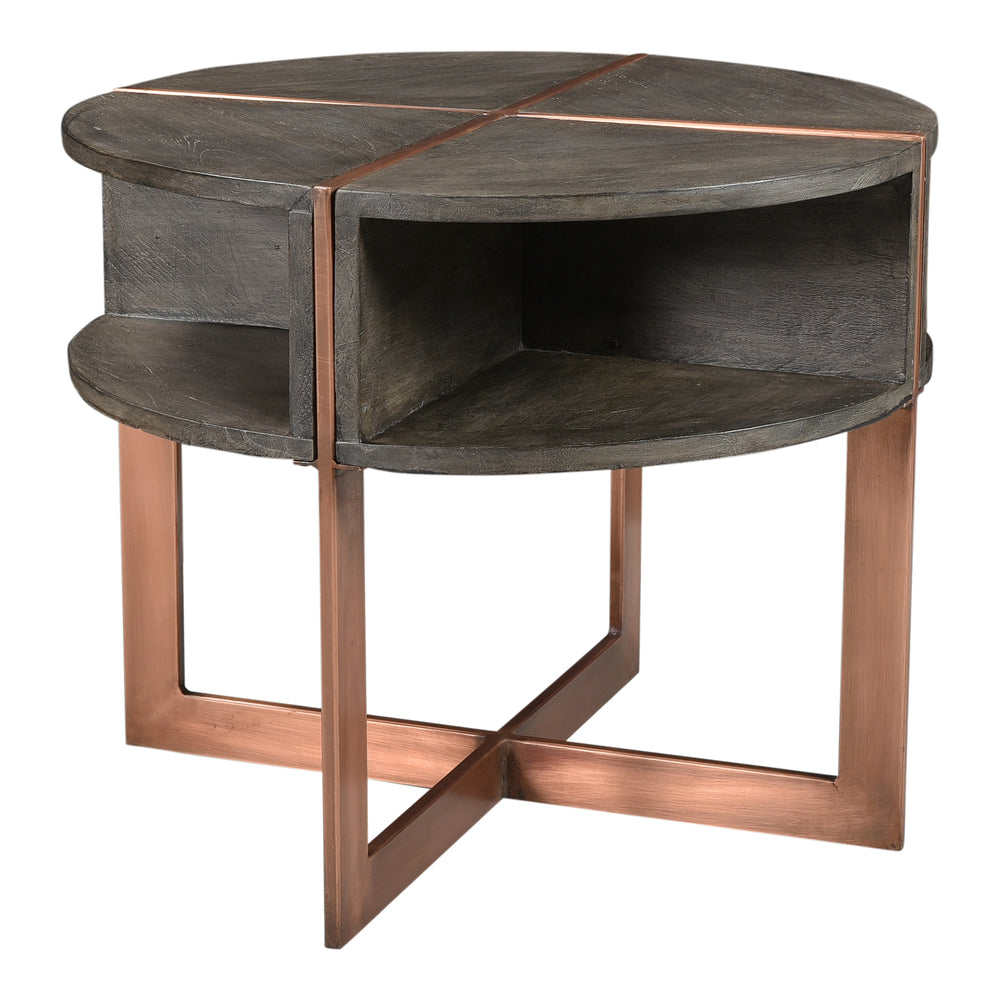 Bancroft Side Table   Side Table Moe's, Old Bones Co  https://www.oldbonesco.com/