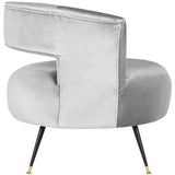 Manet Velvet Chair