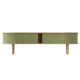 Audacious TV Bench - Light Oak Spring Green/Light Oak Spring Green/Light Oak TV Stand Umage Old Bones Furniture Company https://www.oldbonesco.com/