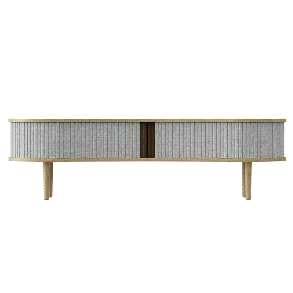 Audacious TV Bench - Light Oak Silver Grey/Light Oak Silver Grey/Light Oak TV Stand Umage Old Bones Furniture Company https://www.oldbonesco.com/
