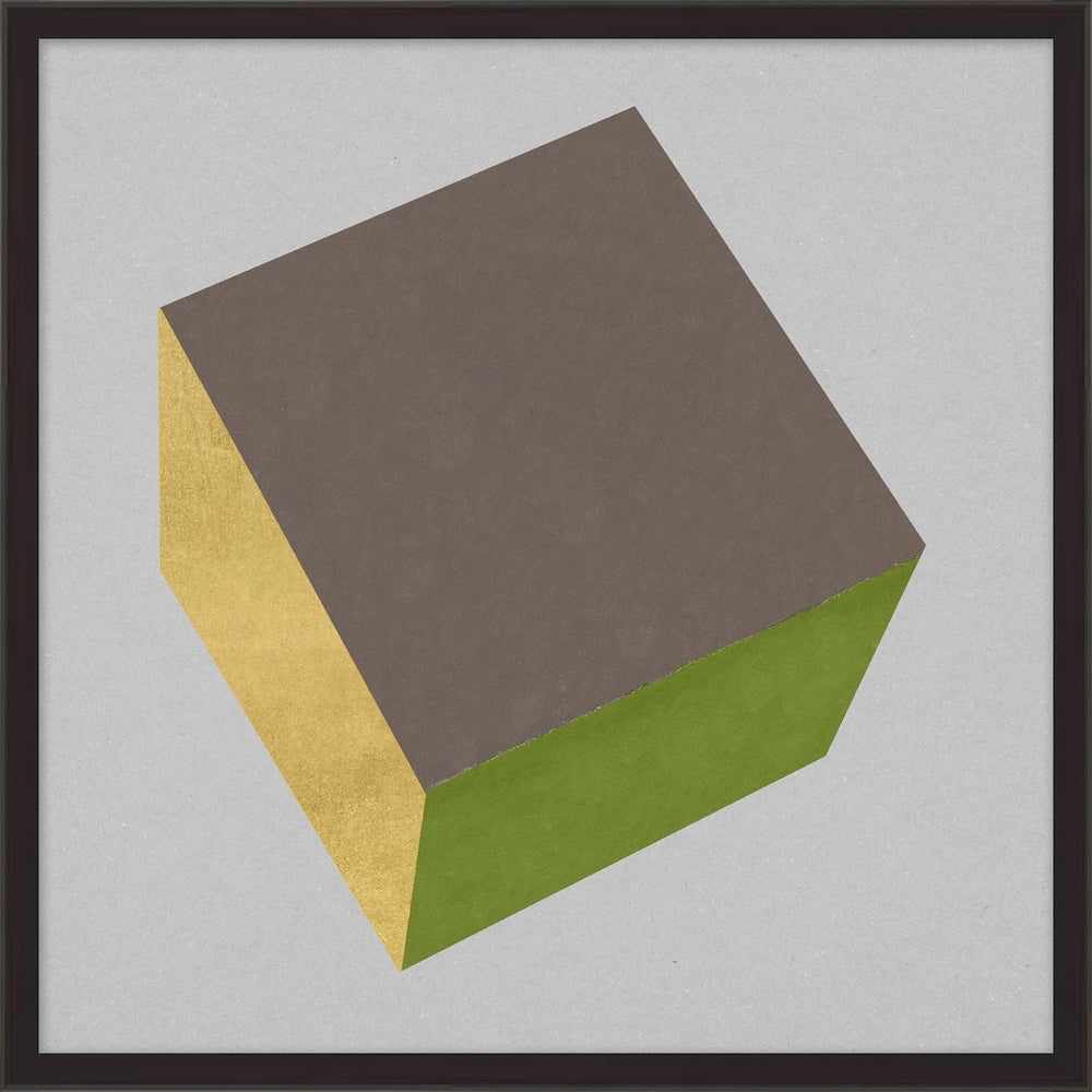 Cube With Gold 8