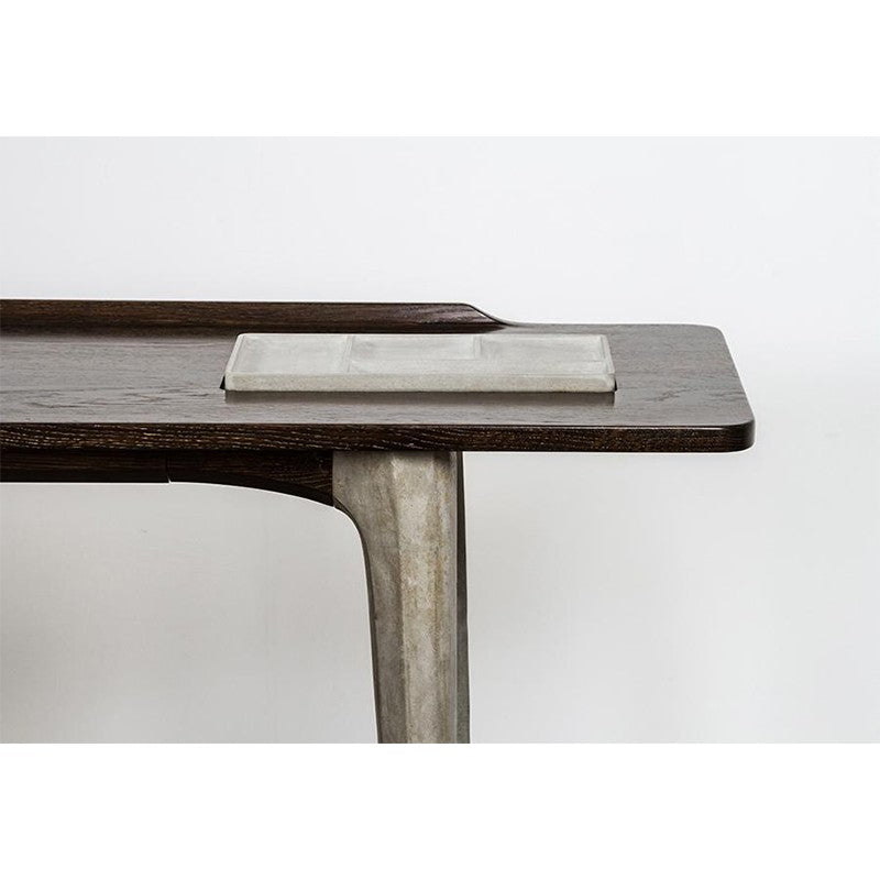 Salk Console - Seared   CONSOLE District Eight Old Bones Furniture Company https://www.oldbonesco.com/