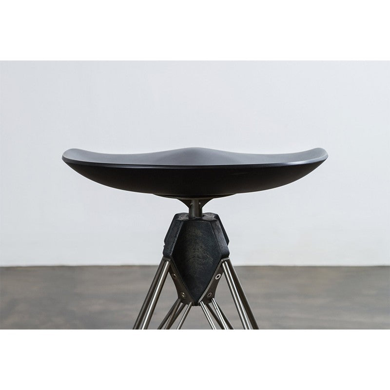 Kahn Counter Stool- Black   Counter Stool District Eight, Old Bones Co  https://www.oldbonesco.com/