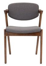 Kalli Grey Fabric Dining Chair   Dining Chair Nuevo, Old Bones Co  https://www.oldbonesco.com/