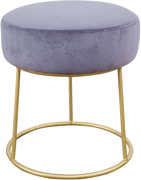 Nina Velvet Stool - Old Bones Furniture Company