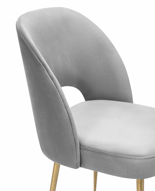 Swell Velvet Chair   Dining Chair TOV Furniture Four Hands, Mid Century Modern Furniture, Old Bones Furniture Company, https://www.oldbonesco.com/