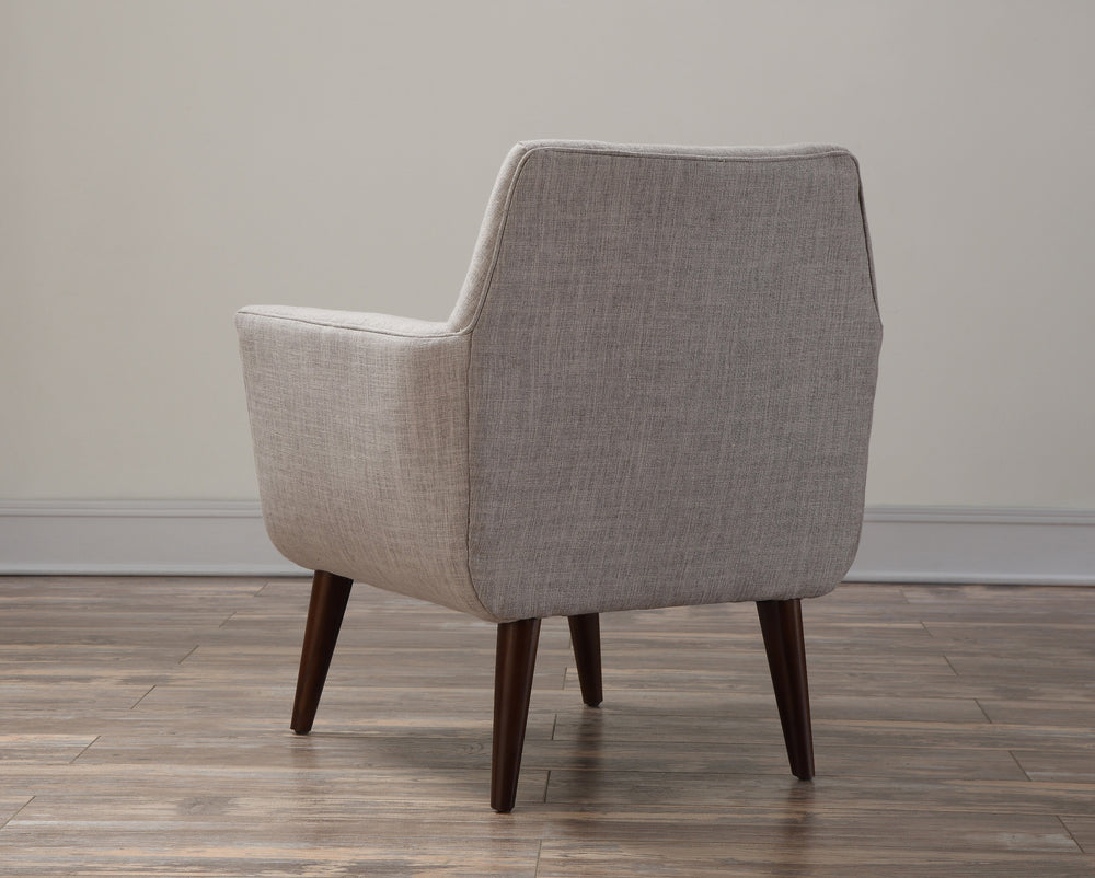 Clyde Beige Linen Chair - Old Bones Furniture Company