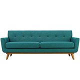 Sophia Sofa Teal Teal Sofa Modway International, Old Bones Co  https://www.oldbonesco.com/