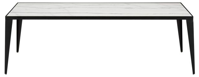 Mink Coffee Table White Marble, Matte Black Steel White Marble, Matte Black Steel Coffee Table Nuevo, Old Bones Co  https://www.oldbonesco.com/