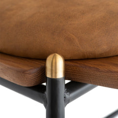 Kink dining chair - Hard fumed
