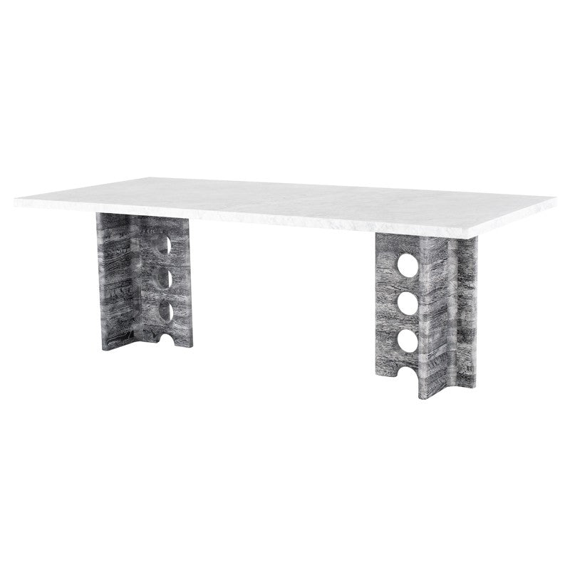 FOUNDARY DINING TABLE - WHITE