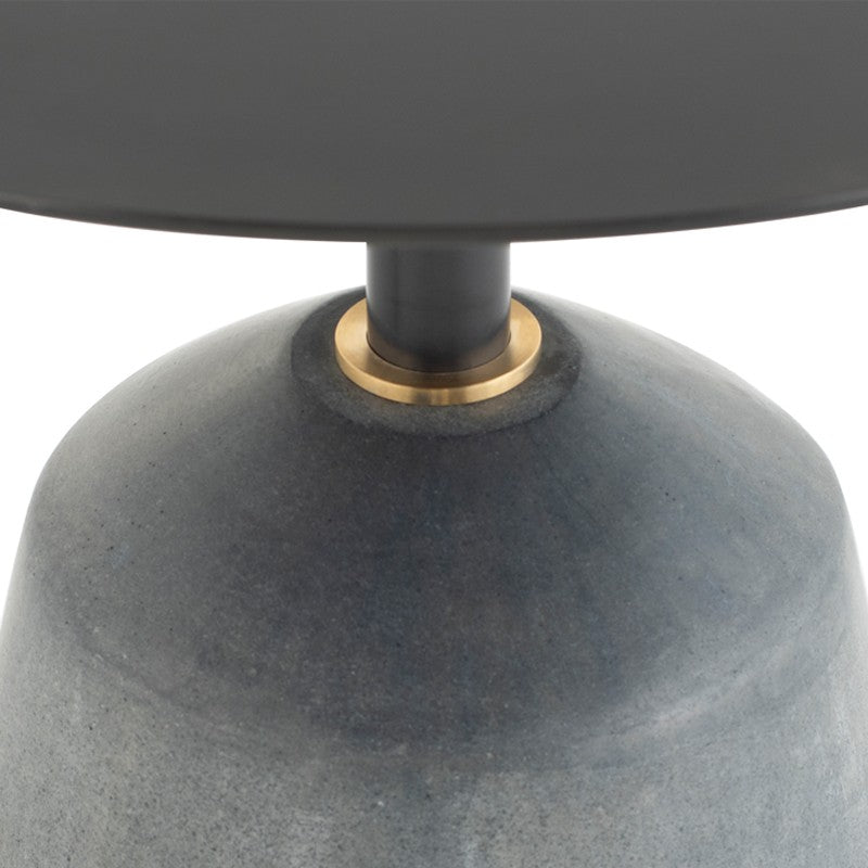 EXETER SIDE TABLE - BLACK 22""