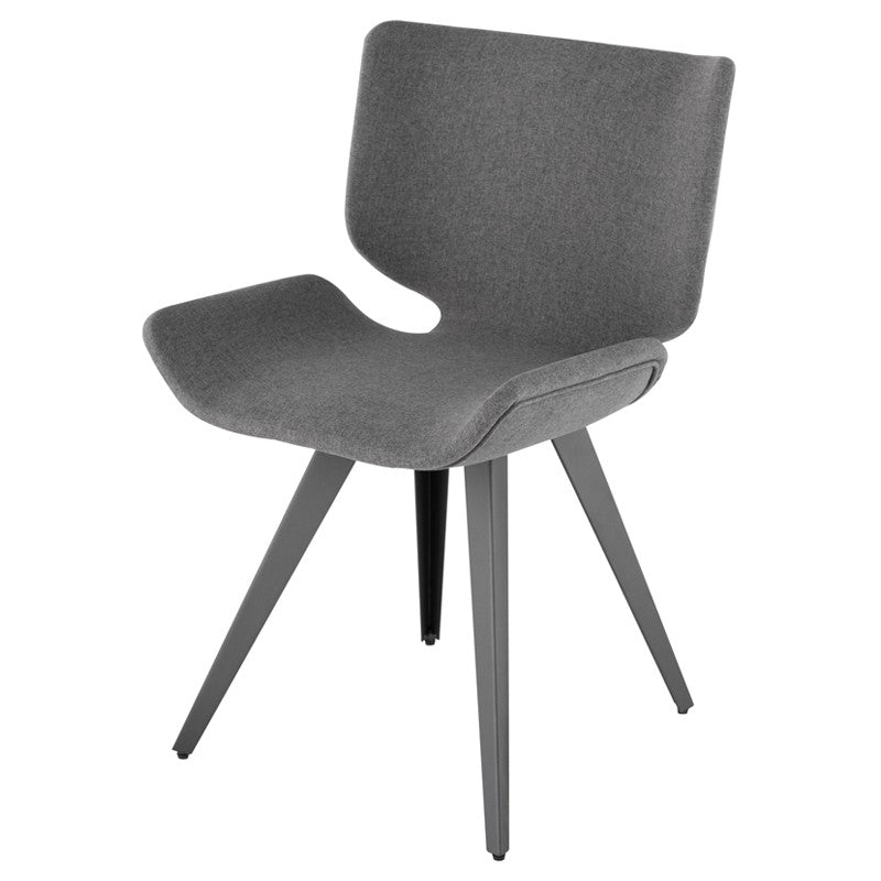 Astra Dining Chair - Shale Grey   Dining Chair Nuevo Four Hands, Mid Century Modern Furniture, Old Bones Furniture Company, https://www.oldbonesco.com/