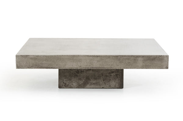 Modrest Morley Modern Concrete Coffee Table - Old Bones Furniture Company