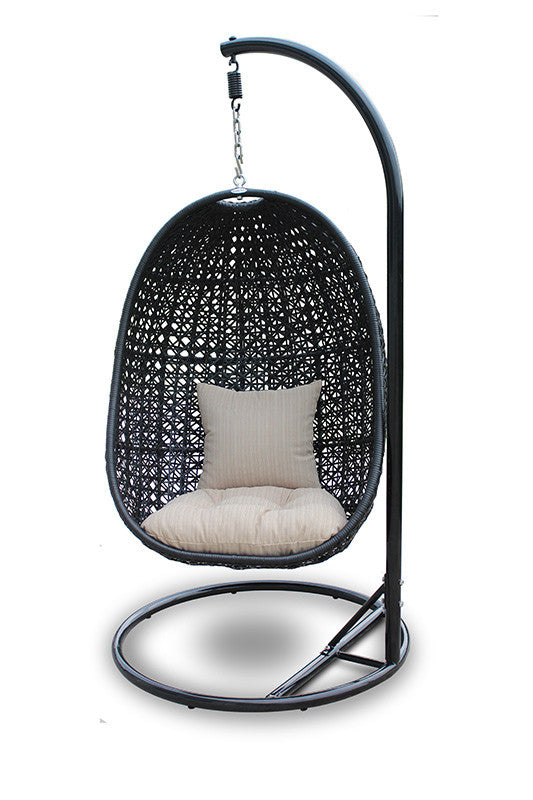 Nimbus Outdoor Hanging Chair   Outdoor Chair Harmonia Living Four Hands, Mid Century Modern Furniture, Old Bones Furniture Company, https://www.oldbonesco.com/