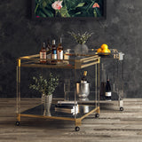 Oden Bar Cart   CONSOLE Lievo Old Bones Furniture Company https://www.oldbonesco.com/