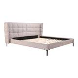 Ostalo King Bed Grey   Beds Moe's, Old Bones Co  https://www.oldbonesco.com/