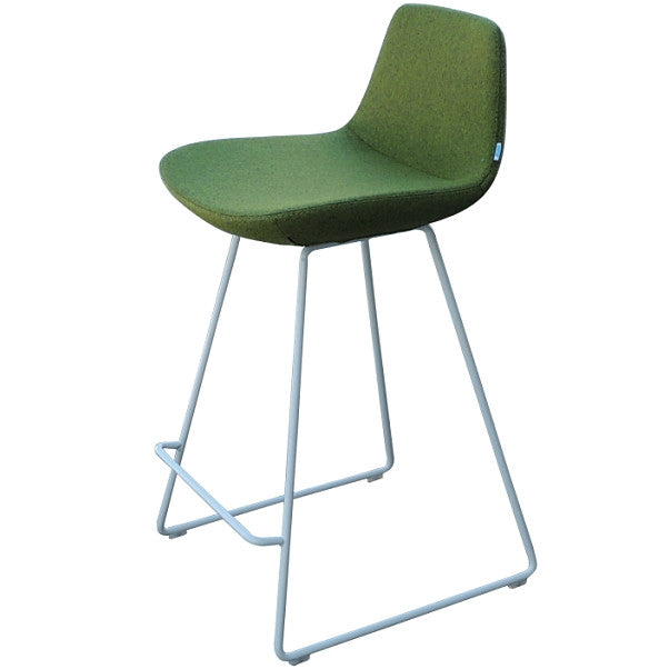 "Pera Stool Counter HT 24"" Green Counter HT 24"" Green Bar Stool Nuans, Old Bones Co  https://www.oldbonesco.com/"