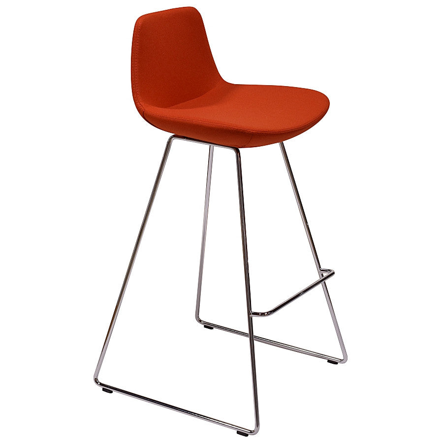 "Pera Stool Counter HT 24"" Orange Counter HT 24"" Orange Bar Stool Nuans, Old Bones Co  https://www.oldbonesco.com/"