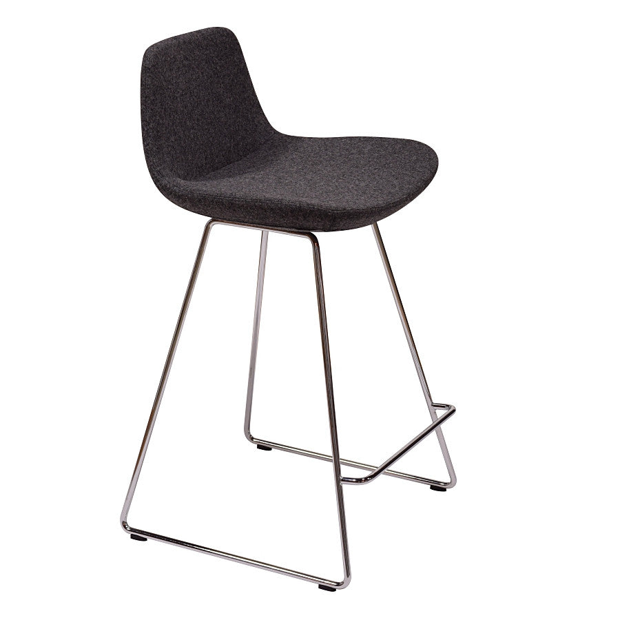 "Pera Stool Bar HT 29"" Dark Grey Bar HT 29"" Dark Grey Bar Stool Nuans, Old Bones Co  https://www.oldbonesco.com/"