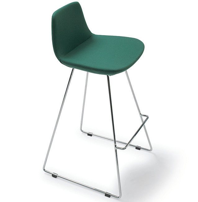 "Pera Stool Counter HT 24"" Emerald Green Counter HT 24"" Emerald Green Bar Stool Nuans, Old Bones Co  https://www.oldbonesco.com/"