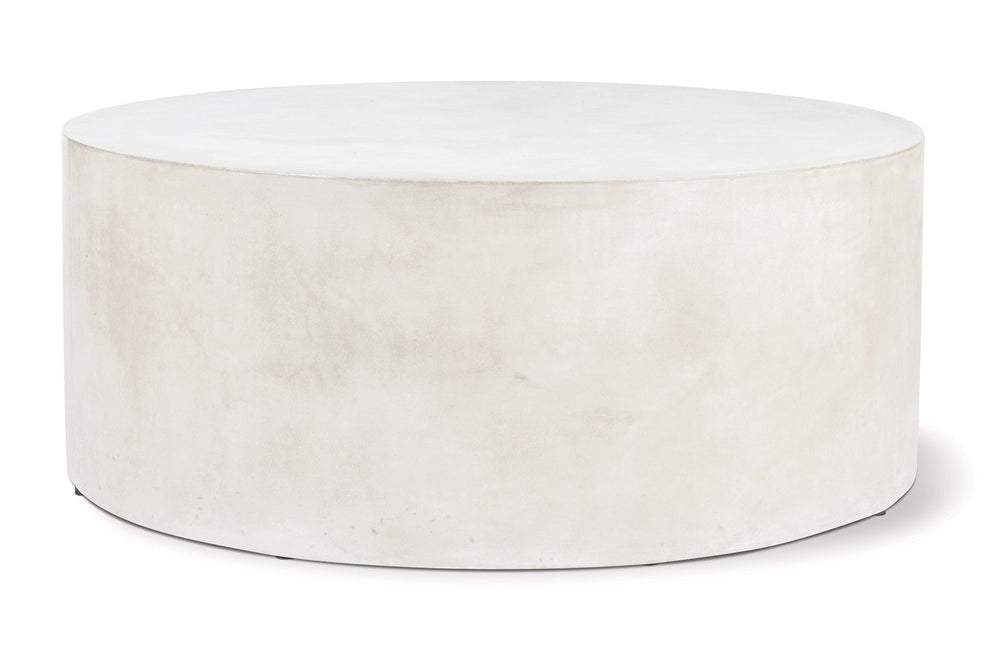 Perpetual Grand Louie Concrete Coffee Table Ivory White Ivory White Outdoor Coffee Table Seasonal Living Old Bones Furniture Company https://www.oldbonesco.com/