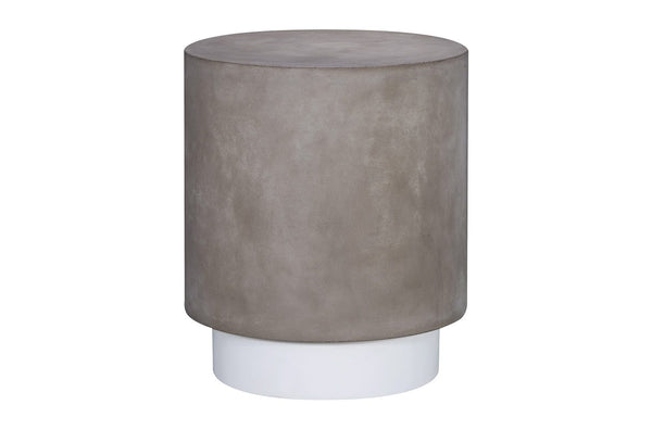 2 tone concrete Side table