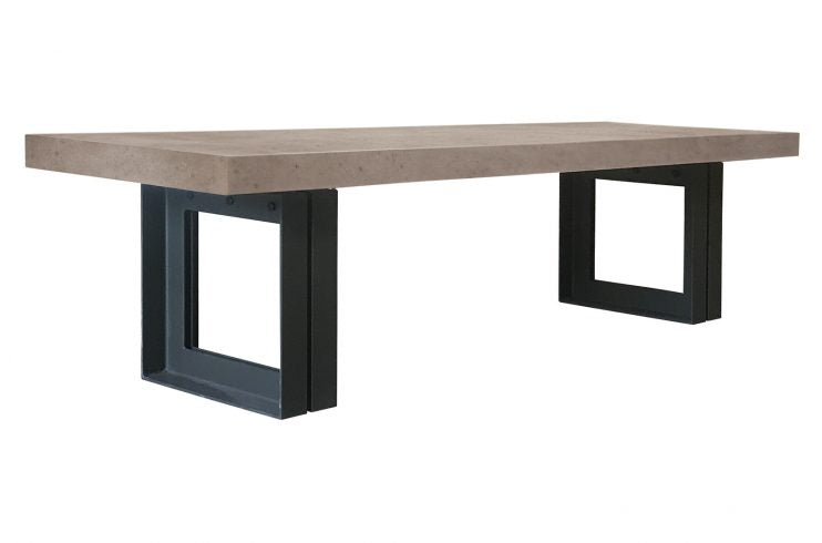 Perpetual Steel Senza Table 87""