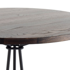 Kahn Bistro Table - Seared Wood