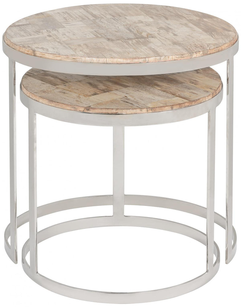 Safavieh Harlowe Nesting Tables   Side Table Safavieh, Old Bones Co  https://www.oldbonesco.com/