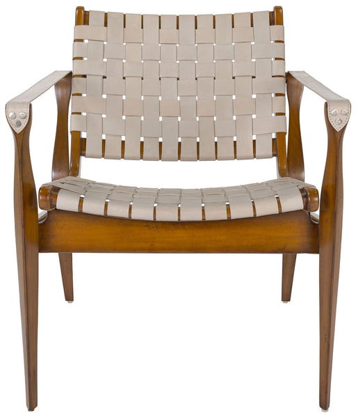 Safavieh Dilan Safari Chair - Old Bones Furniture Company