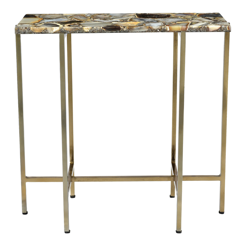AGATE ACCENT TABLE