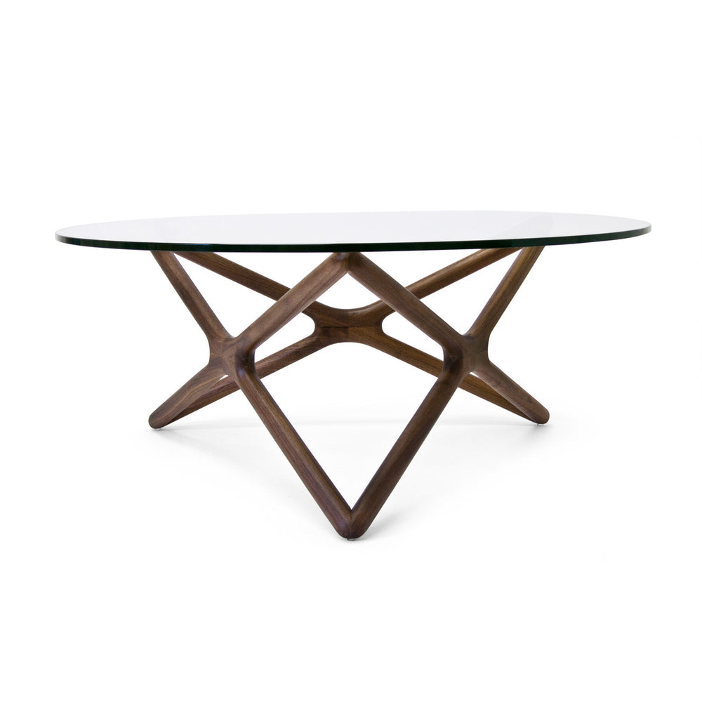 Star Coffee Table American Walnut American Walnut Coffee Table Nuevo Old Bones Furniture Company https://www.oldbonesco.com/