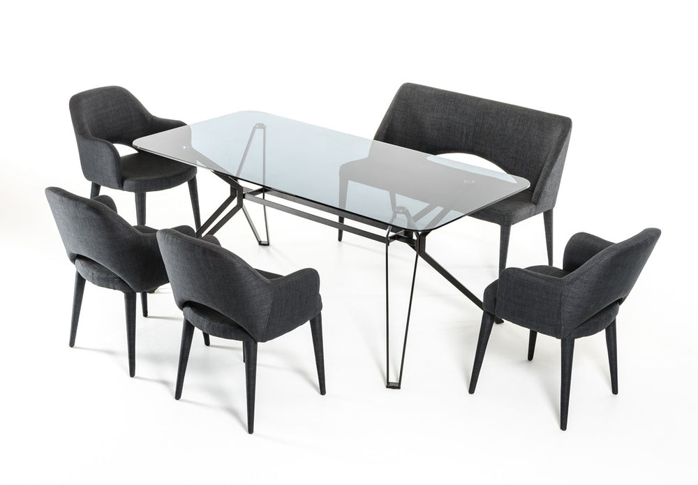 Synergy Modern Smoked Glass Dining Table   Dining Table VIG Furniture, Old Bones Co  https://www.oldbonesco.com/