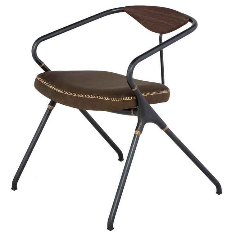 AKRON DINING CHAIR - JIN GREEN