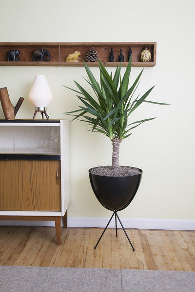 Retro Bullet Planter - Hip Haven - Old Bones Furniture Company